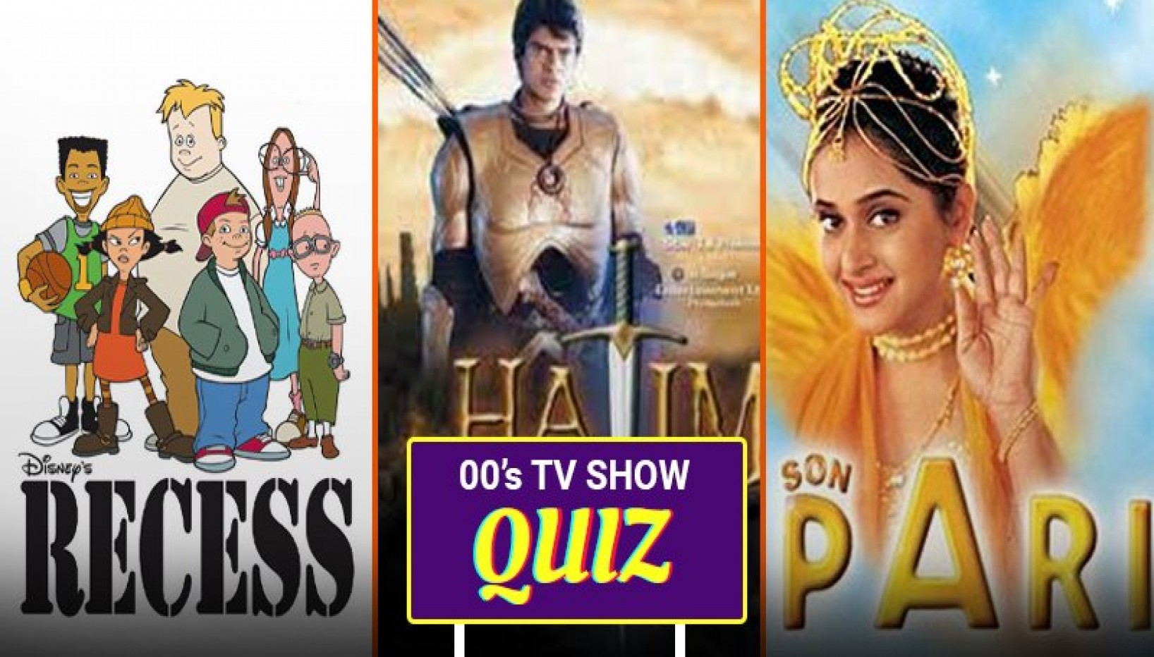 00s TV Show Quiz That Will Take You Back To Your Childhood Days