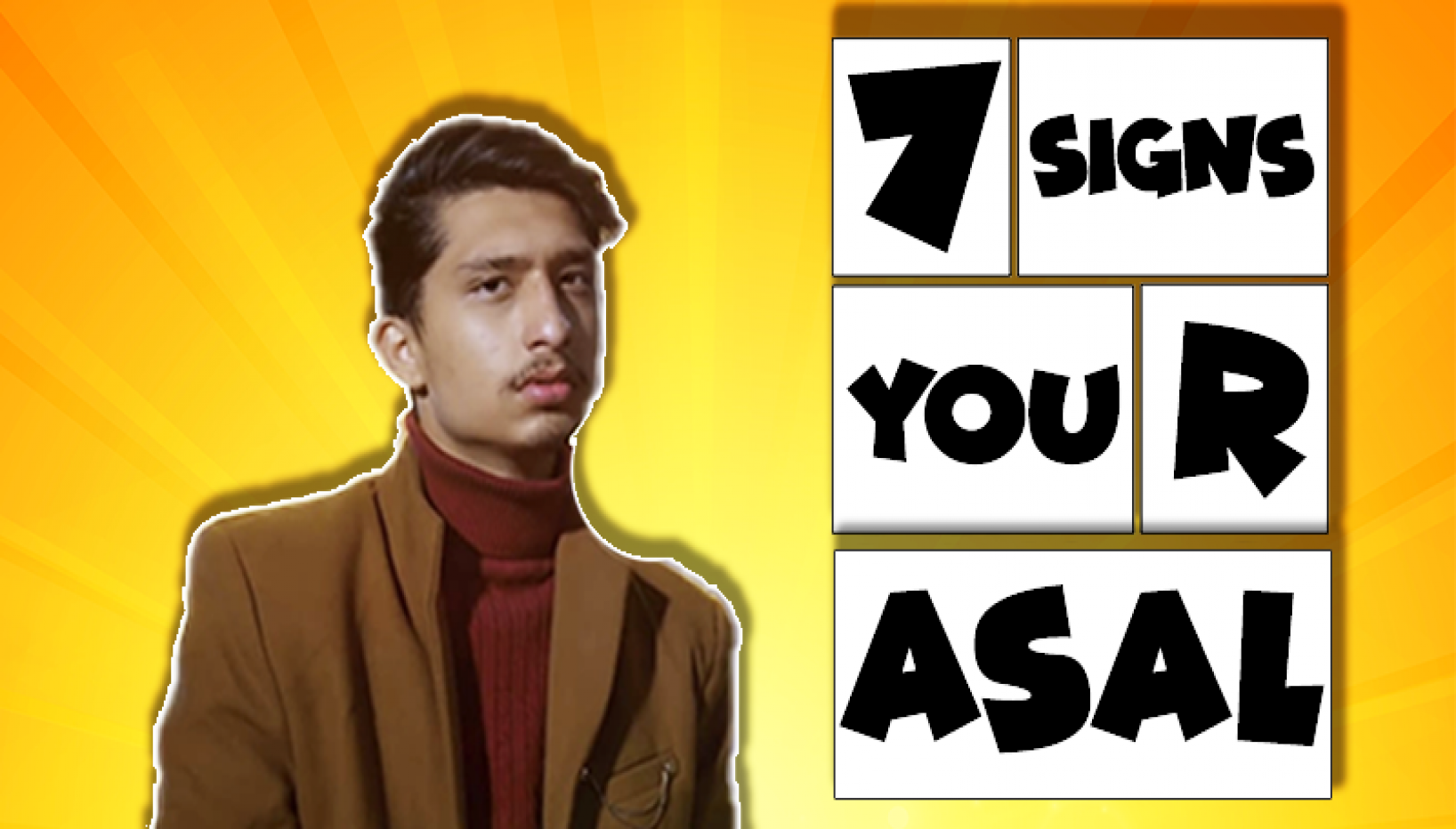 7 Subtle Signs You're Asal From Blind Date