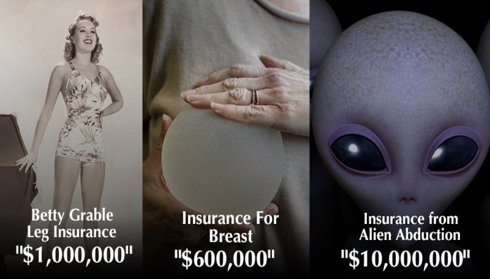 8 Of The Weirdest Things That People Have Insured