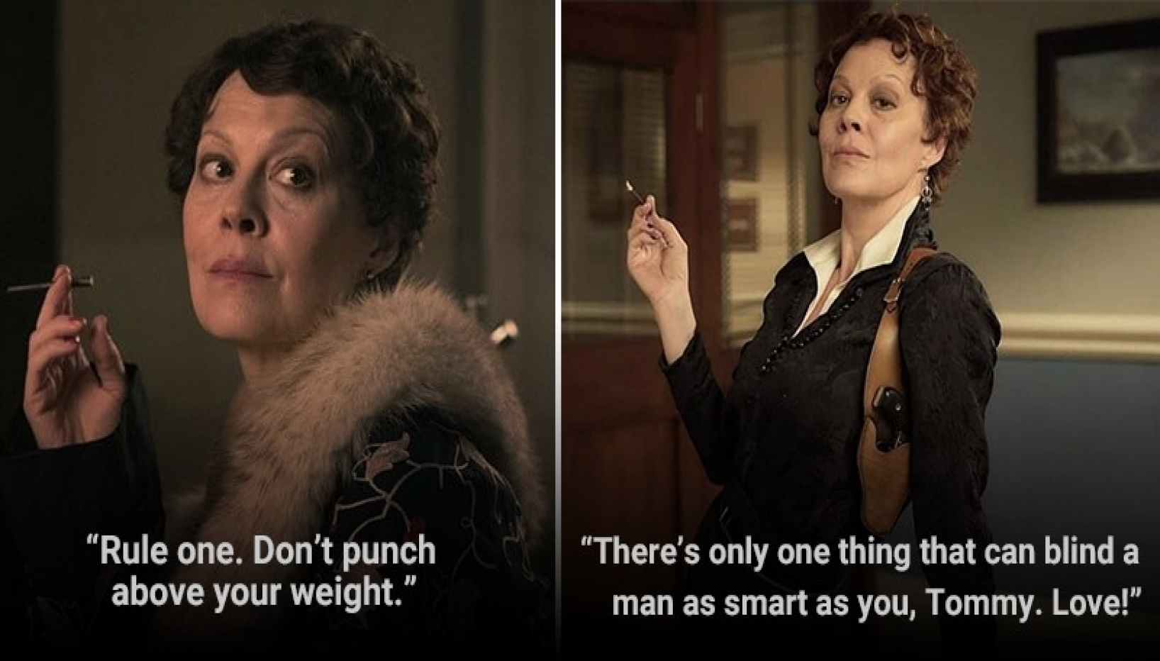 A Tribute To Helen McCrory With 11 Aunt Polly Quotes That Cross All Limits Of Badassery