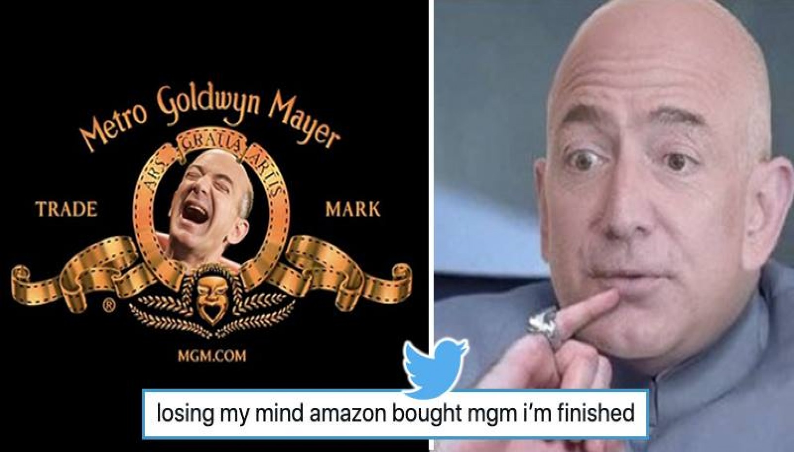 Amazon Takes Over Hollywood Studio MGM for $8.45 billion And Twitter Reacts To The News