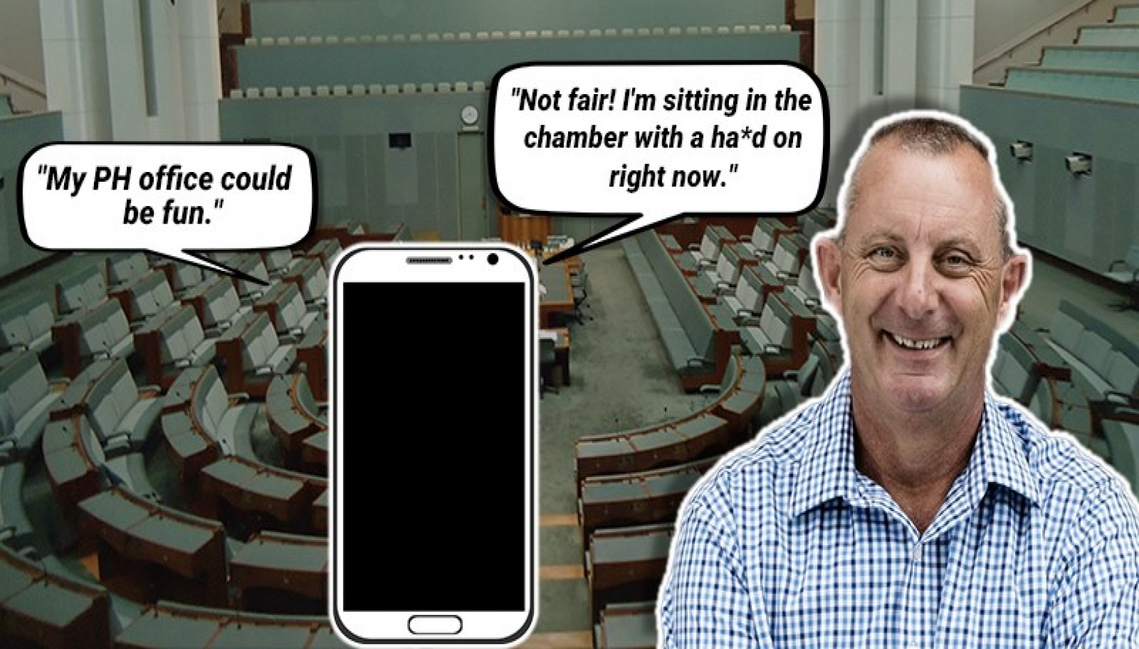Australian MP Sexts While Seated In Parliament Meeting; Here Are Some Of His Desperate Messages