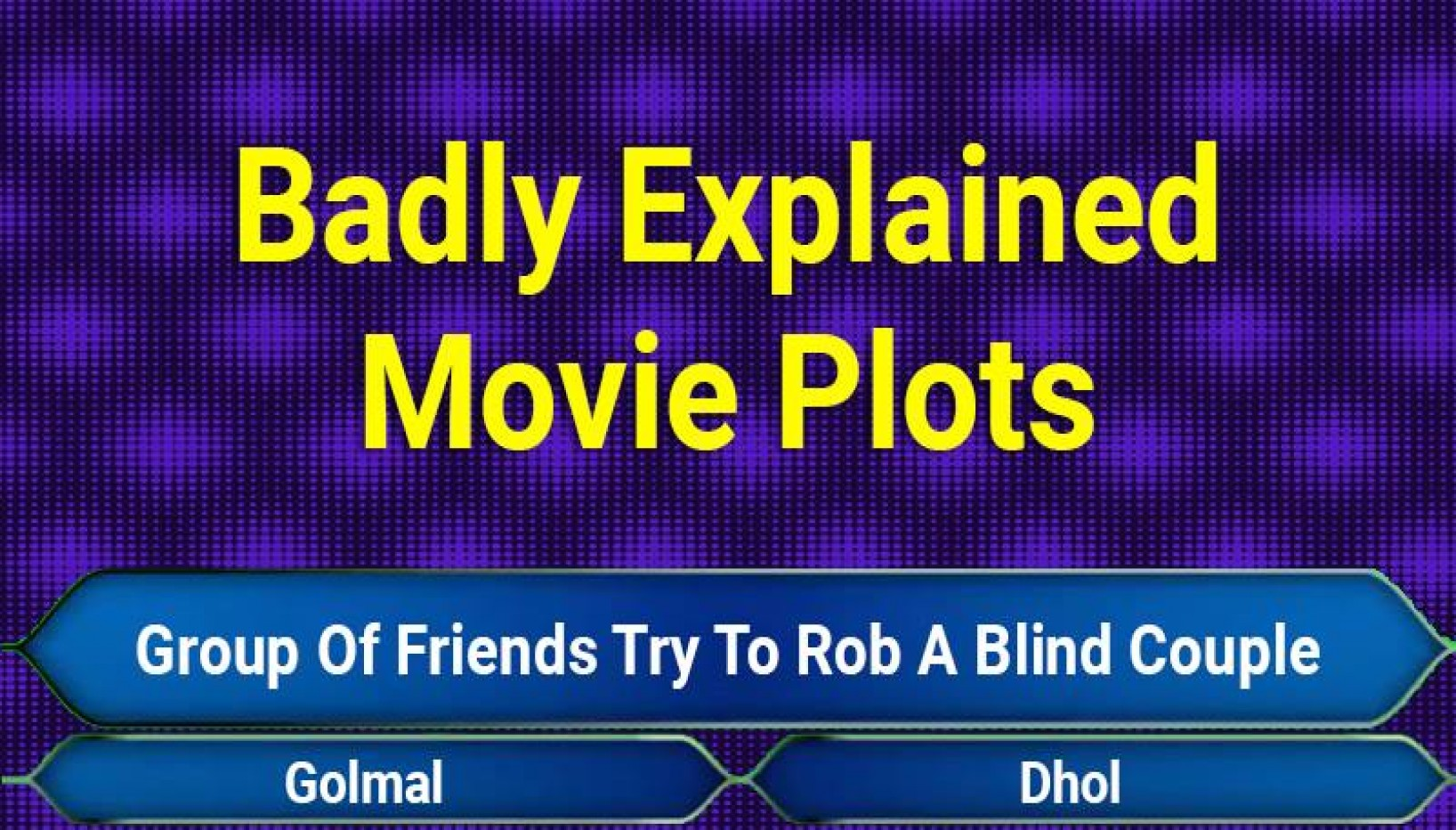 QUIZ: Can You Guess The Bollywood Movies Based Off These Badly Explained Plots?