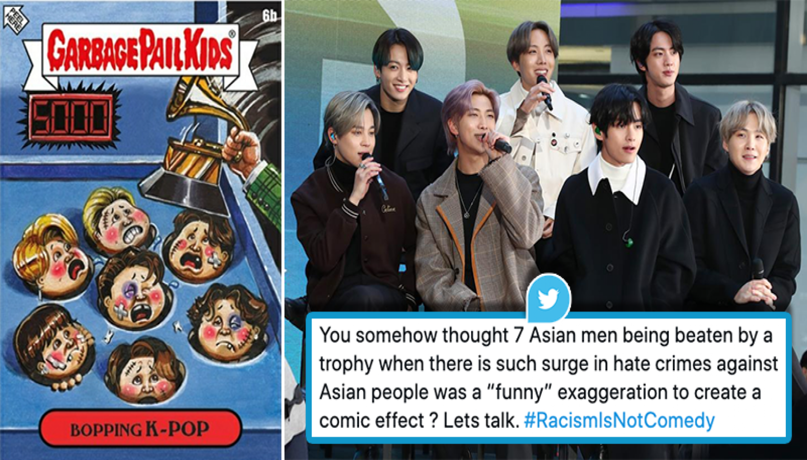 BTS Army Voices Anger Against Violent 'Satirical' Artwork On The Band; #RacismIsNotComedy Trends On Twitter