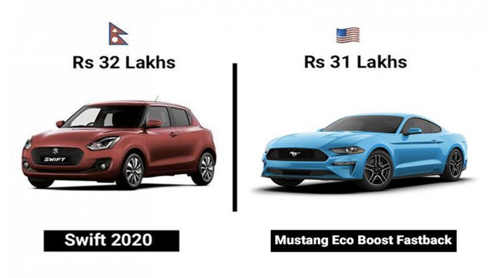 What Cars Can You Buy In Nepal And USA For The Same Price? Here's What We Found