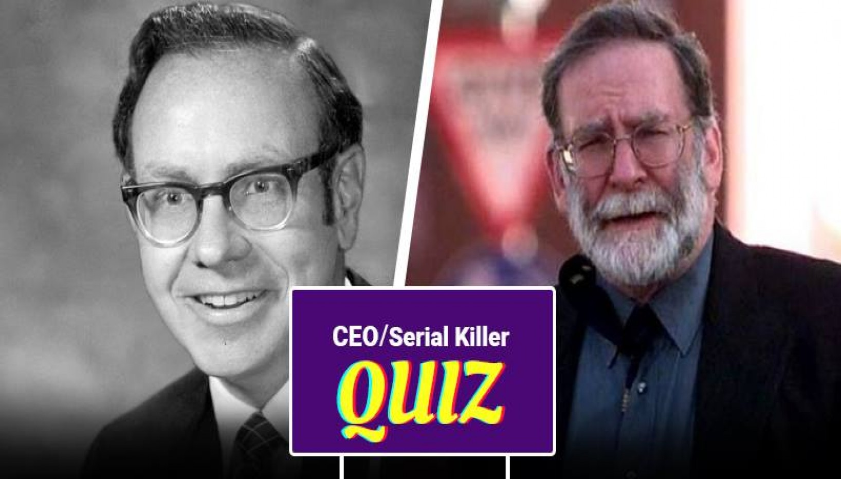 QUIZ: Only Sherlock Holmes Can Identify If These Individuals Are CEOs Or Serial Killers.