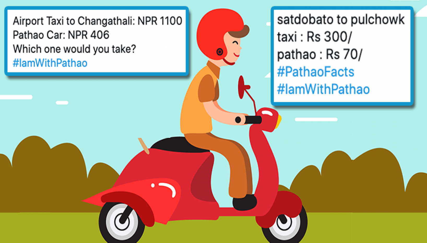 Clash Ensues Between Pathao Riders And Taxi Drivers; #IAmWithPathao Trends As Netizens Lend Support