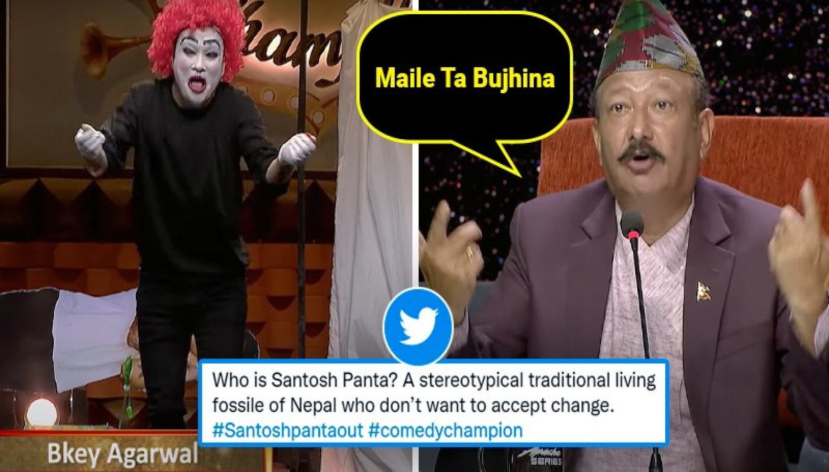 Who Should Be Eliminated From The Next Round Of Comedy Champions? Santosh Panta — Answer Netizens.
