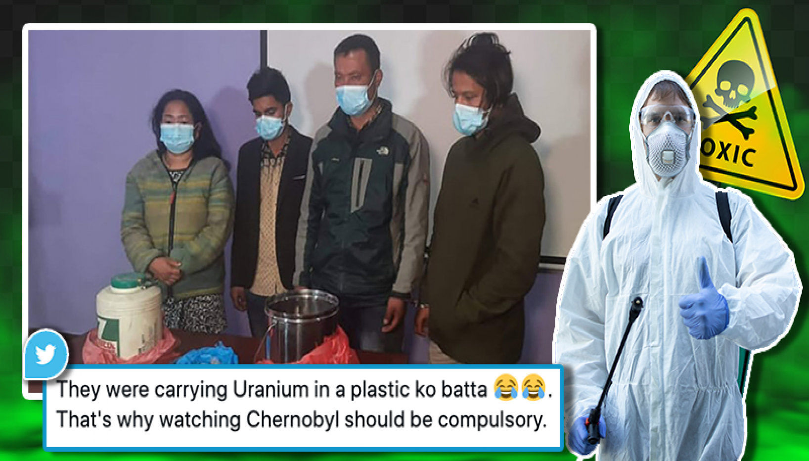Crazy Story About 2.5 kg Of Uranium Hidden Inside A Tiffin Box In Boudha