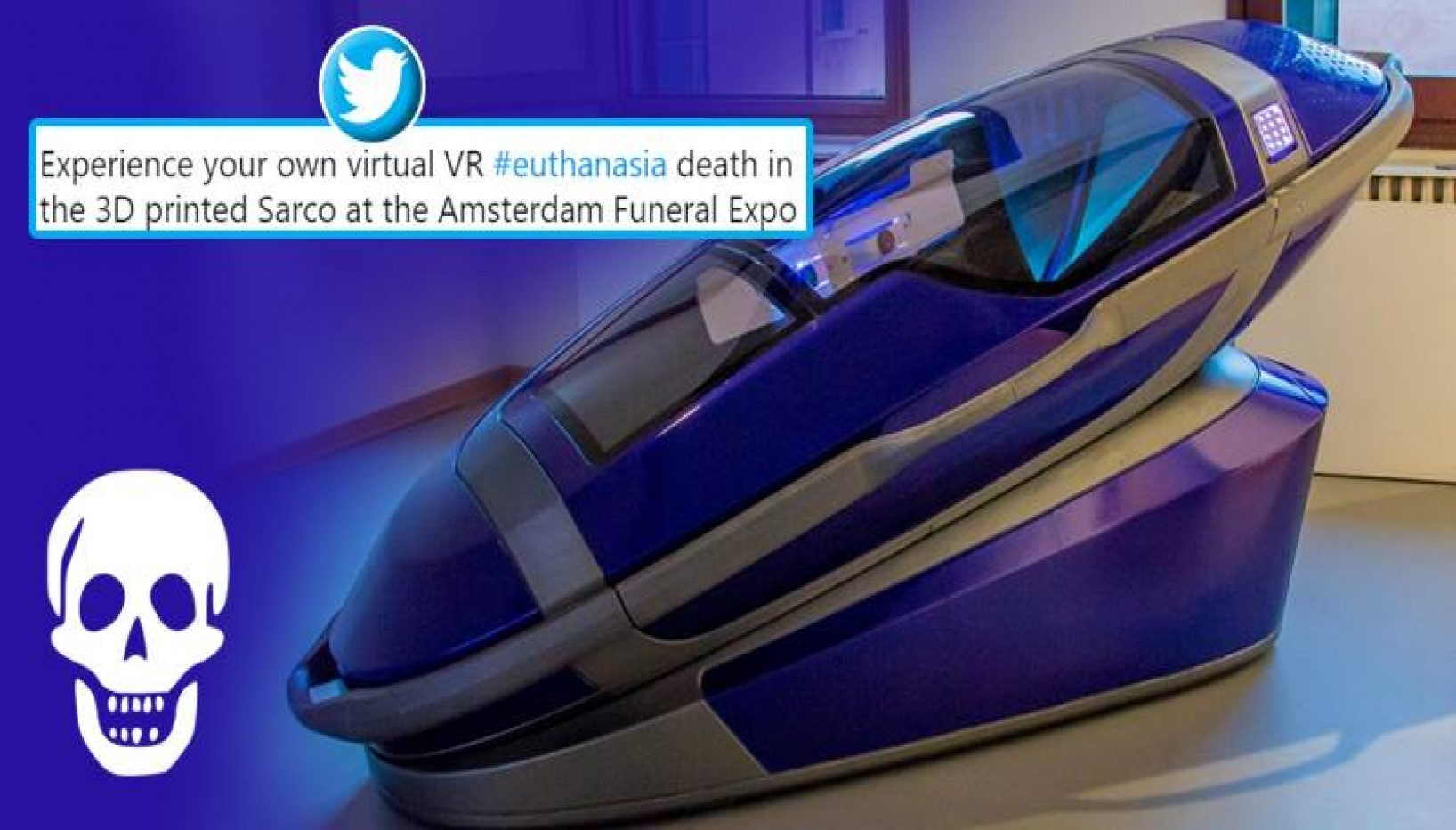 This Death Pod Lets You Experience What Dying Feels Like Via Virtual Reality