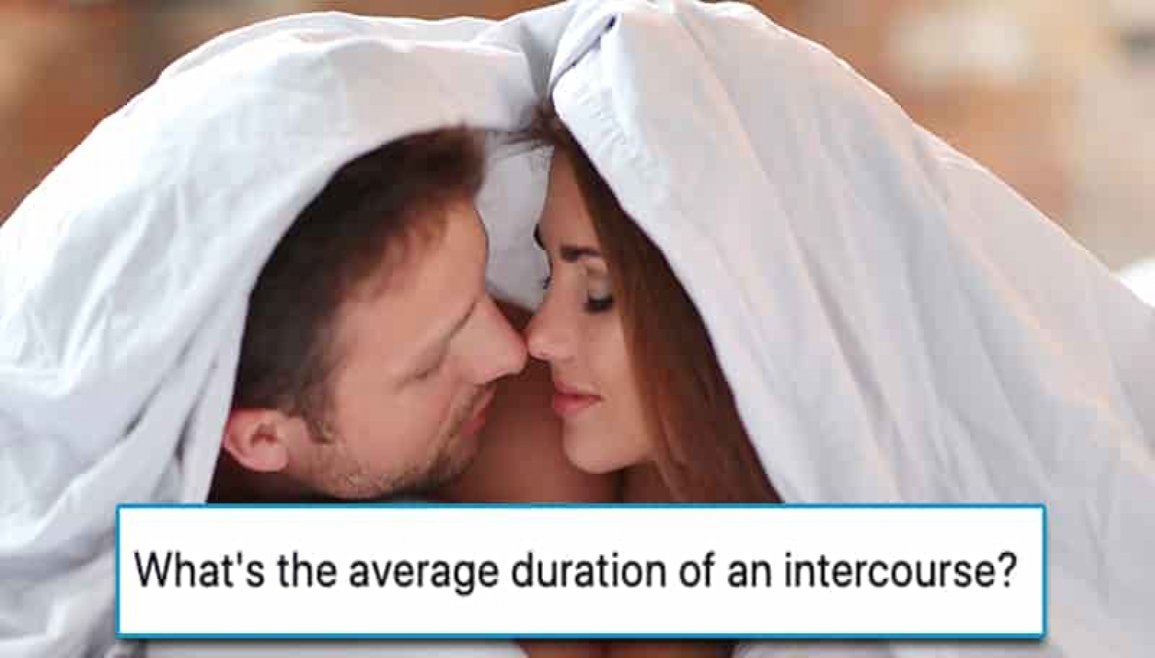 How Long Should An Intercourse Last? Here's What A Doctor Has To Say!