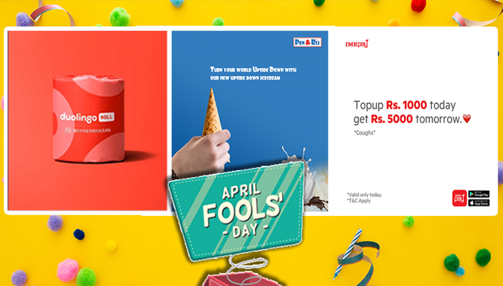 Duolingo Toilet Rolls And Doodh Patti Lays; Here's How Various Brands Celebrated April Fool's Day