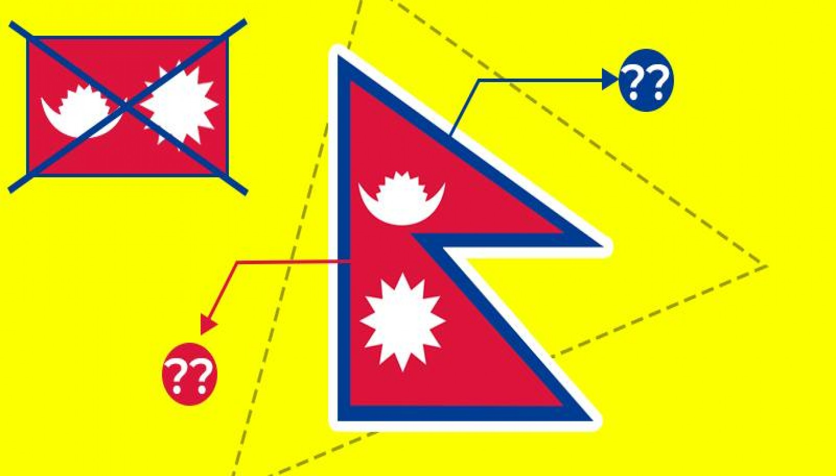 The World's Only Non-Quadrilateral Flag: Here's Everything You Need To Know About The Flag Of Nepal