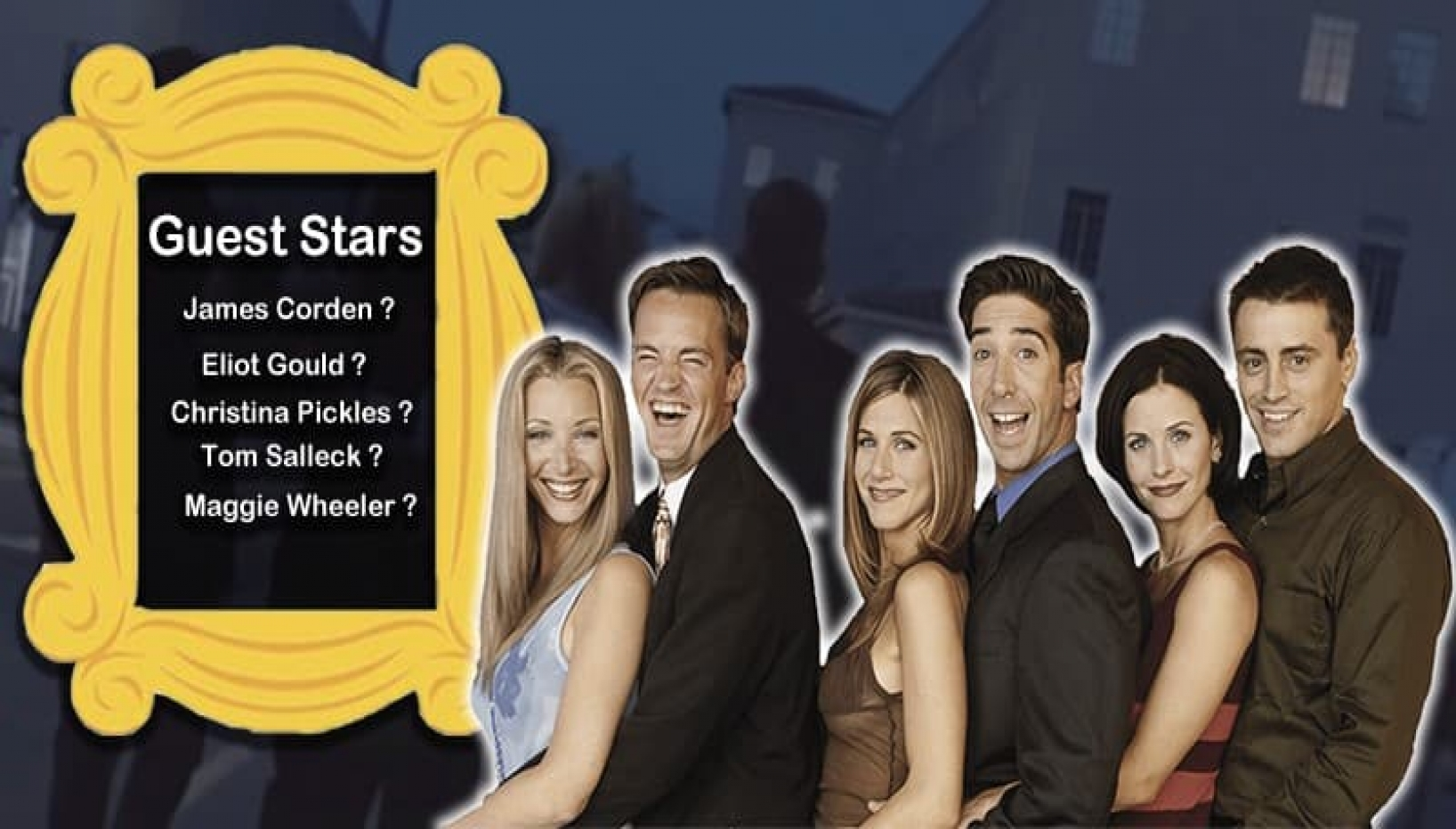 What if the FRIENDS Reunion Was An Actual Episode And Not A Special Show? Here Is How We Imagine It To Be