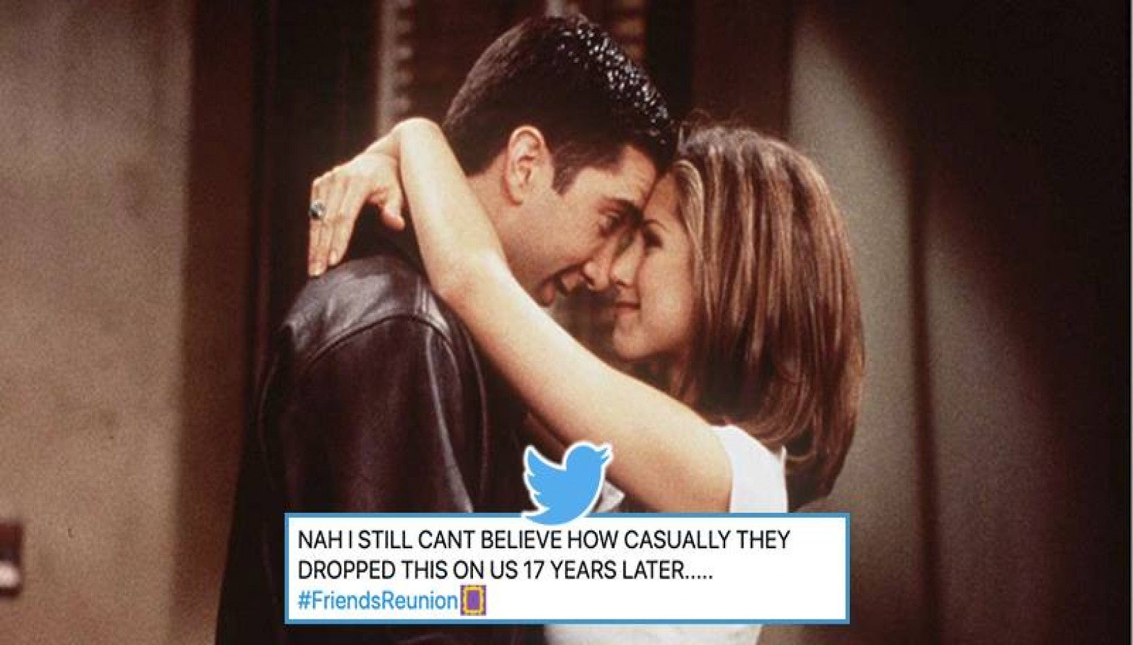 Friends Reunion Reveal: Ross And Rachel Apparently Had A Crush On Each Other In Real Life And Twitter Can't Handle It