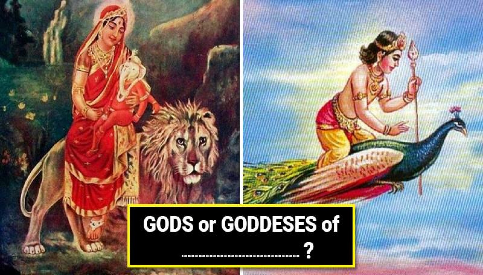 Can You Guess What These Hindu Deities Are Gods And Goddesses Of?