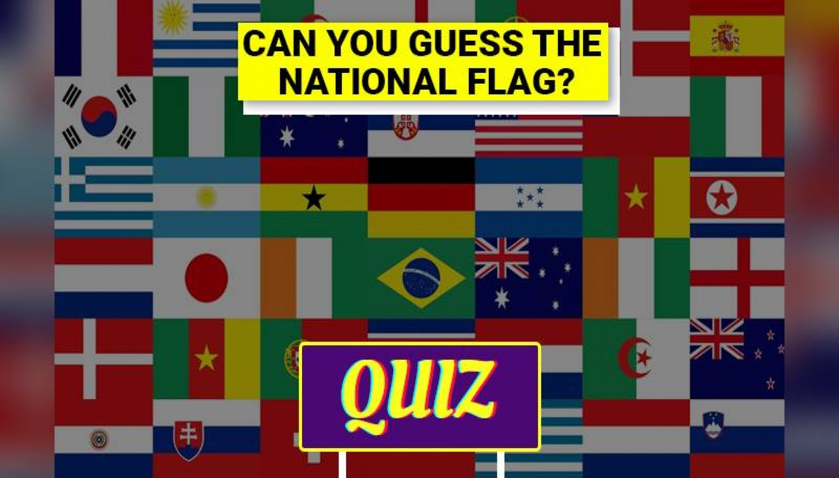 It's A Red Flag If You Score Less Than 5 On This Easy Country Flag Quiz