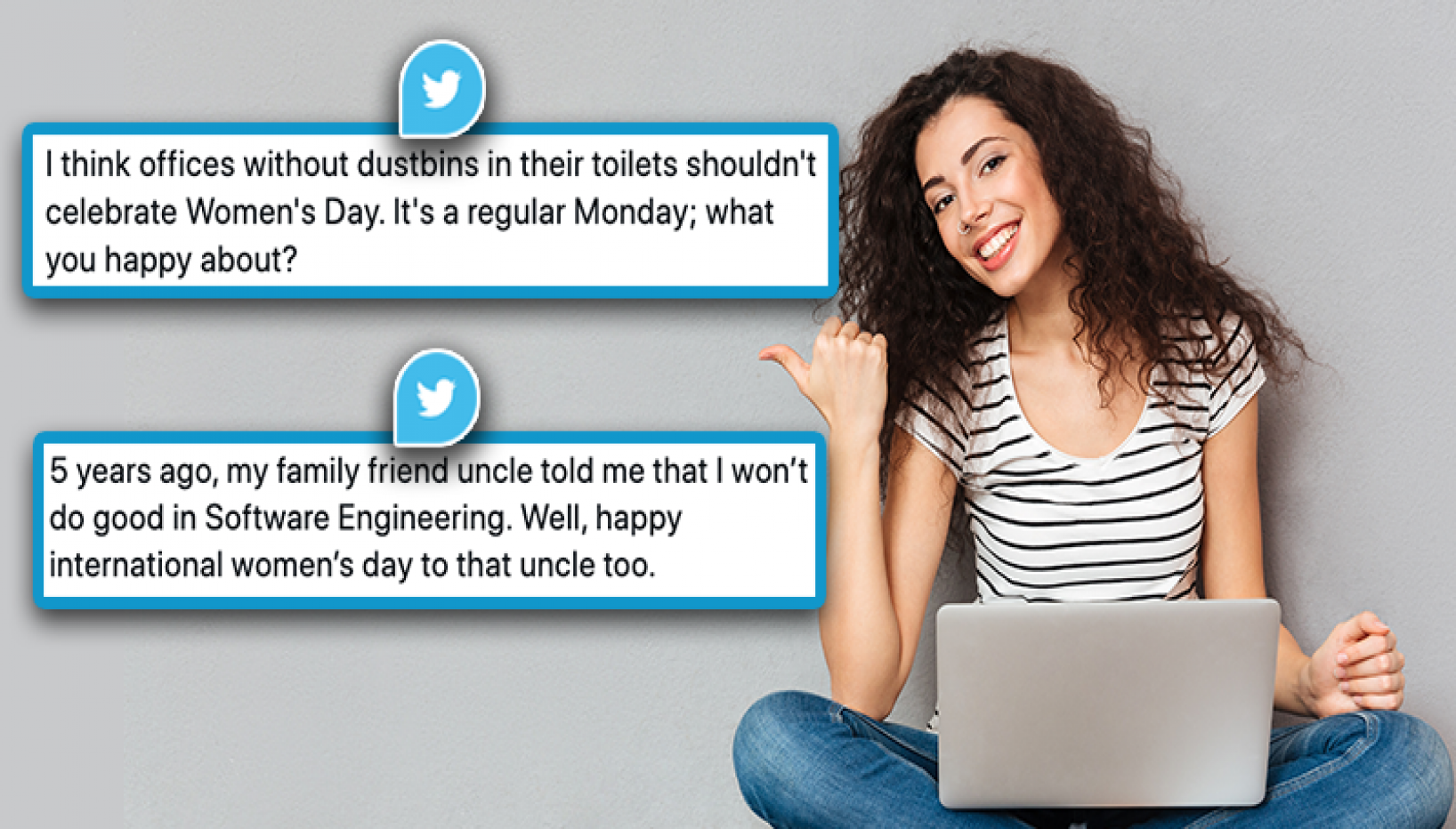 Here Are 8 Tweets That Show What Women Really Want This Women's Day