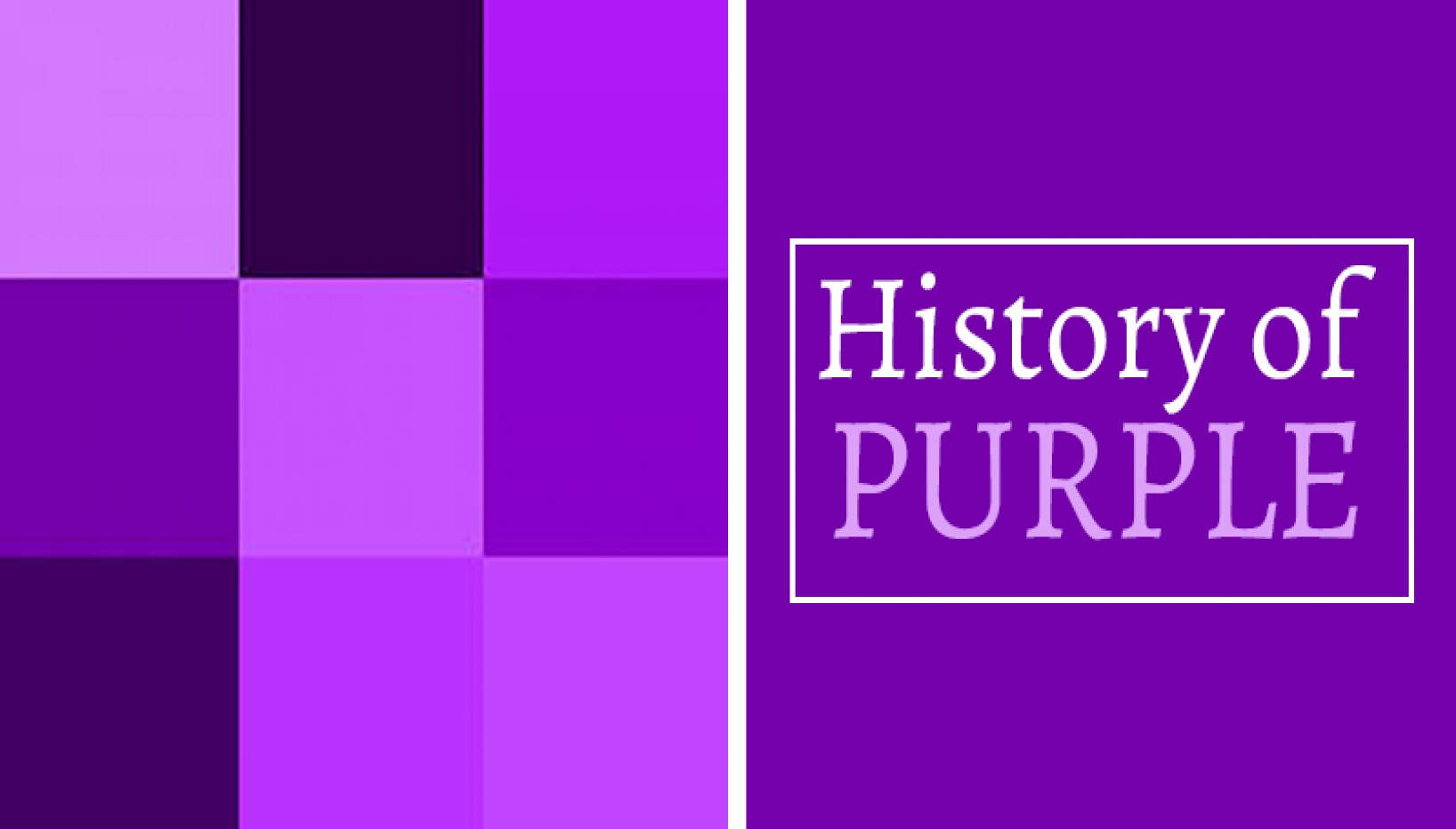 One Of The World's Most Expensive Colors: A Brief History Of The Color Purple
