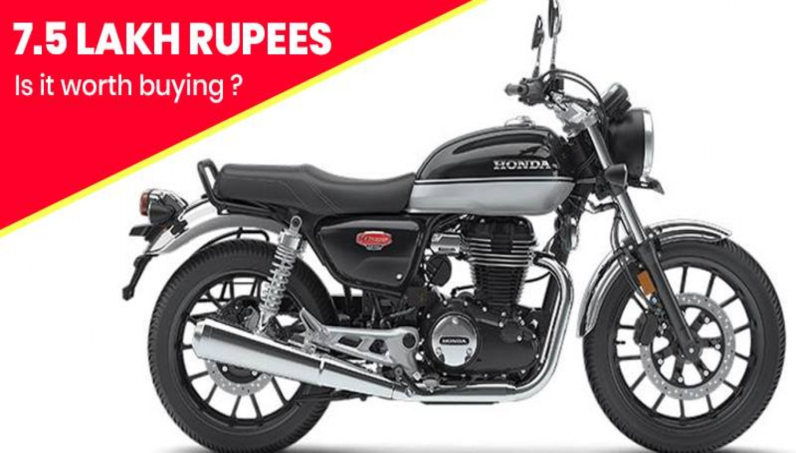 The Honda H'ness CB350 Is Finally Coming To Nepal. Here Is All You Need To Know About It
