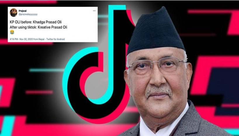 Internet Can't Stop Talking About PM KP Oli Joining TikTok