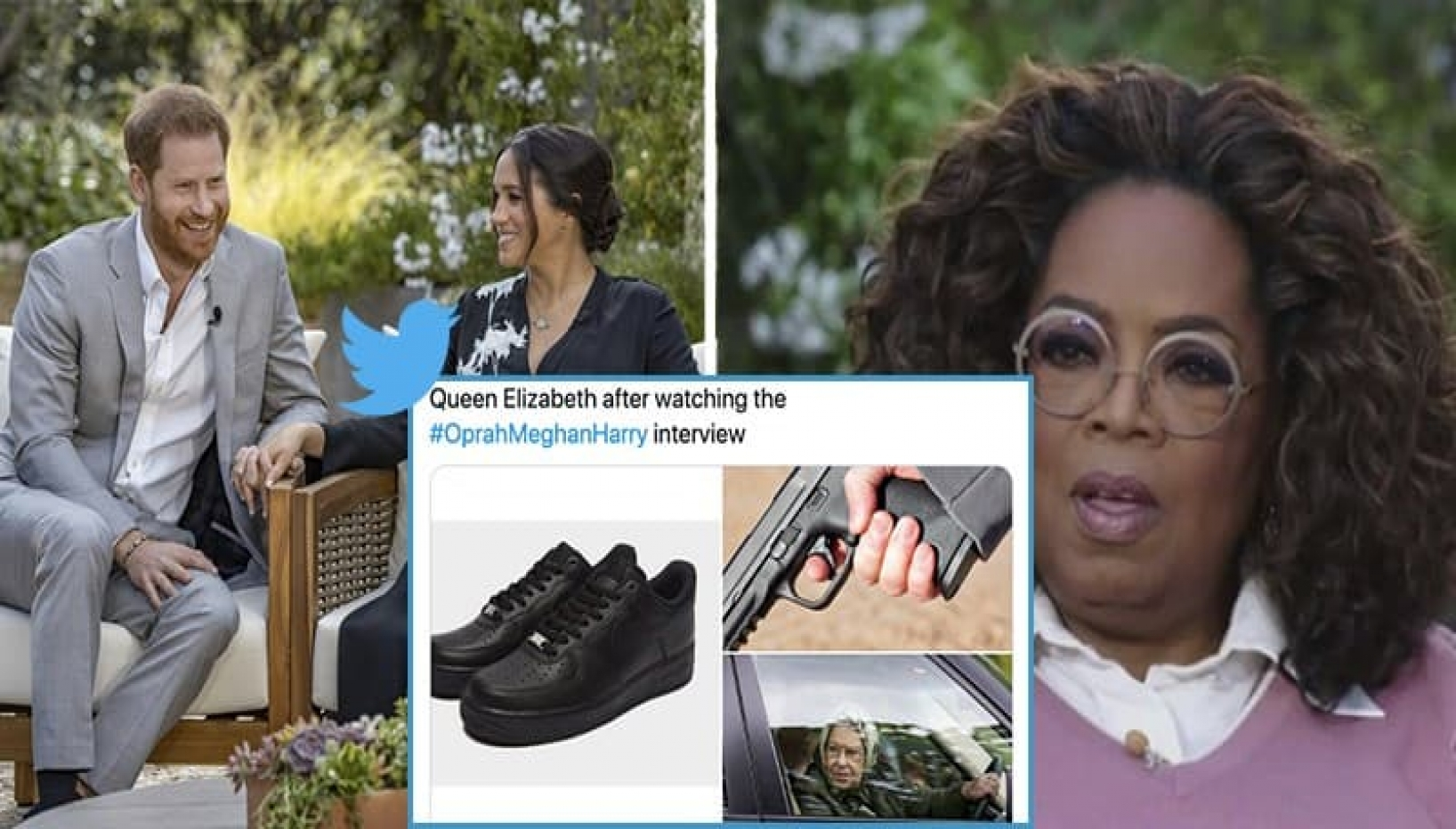 Internet Reacts to Oprah's Interview with Meghan Markle and Ex-Prince Harry