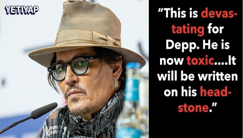 Johnny Depp's Career Over? Hollywood Pundits Claim It Is!