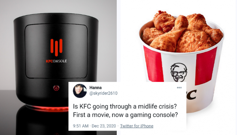 KFC Launches A New Gaming Console With A Built-in Chicken Warmer