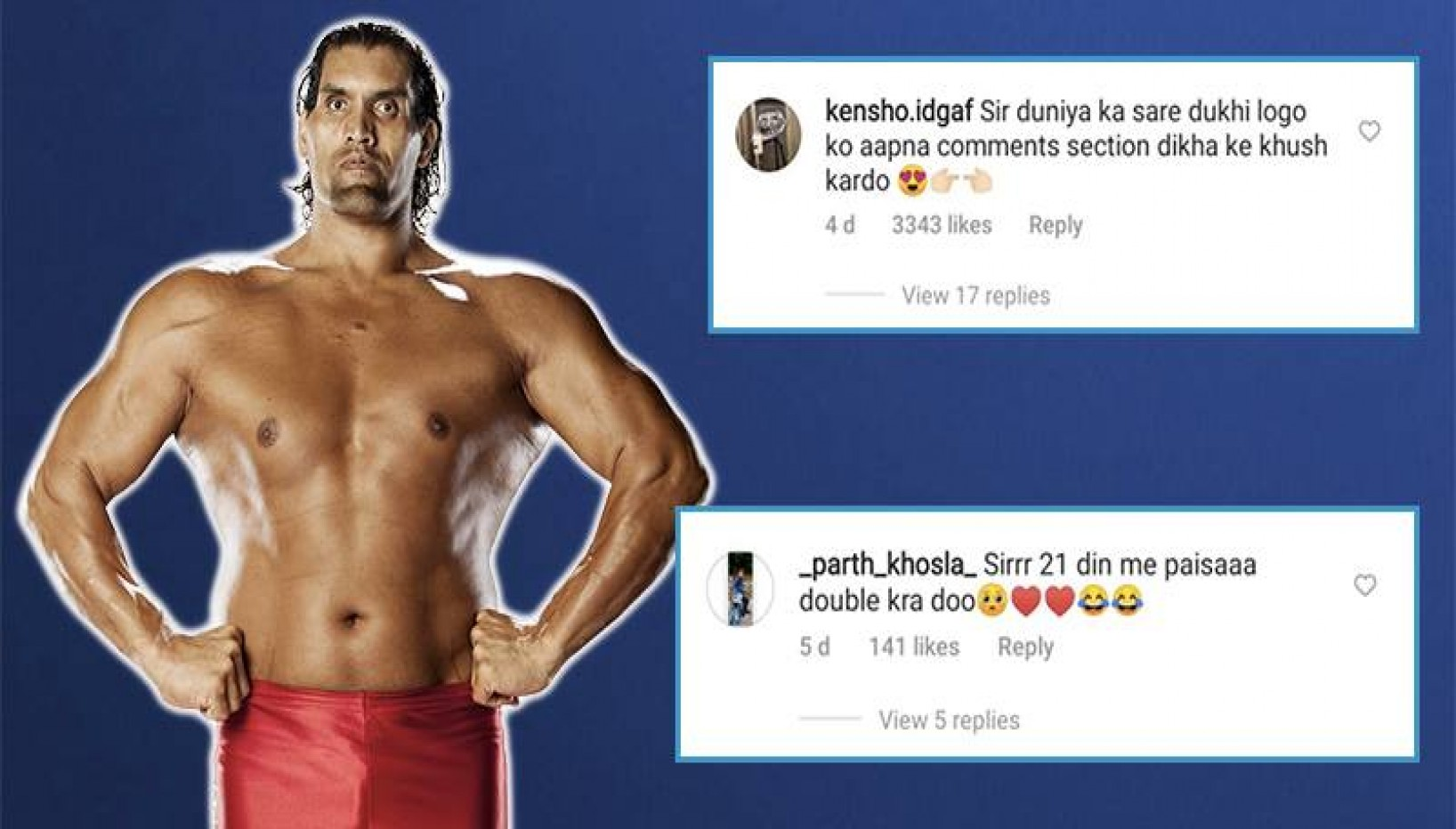 From Bullying Bill Gates To Appointing Salman Khan As His Driver, Netizens Are Making Bizarre Requests Of The Great Khali