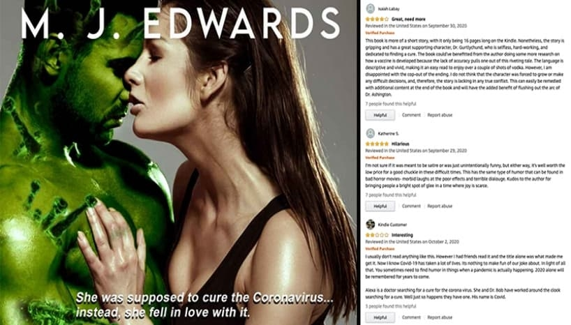"""Kissing the Corona Virus, The Erotic Book  That is Going """"Viral"""""""