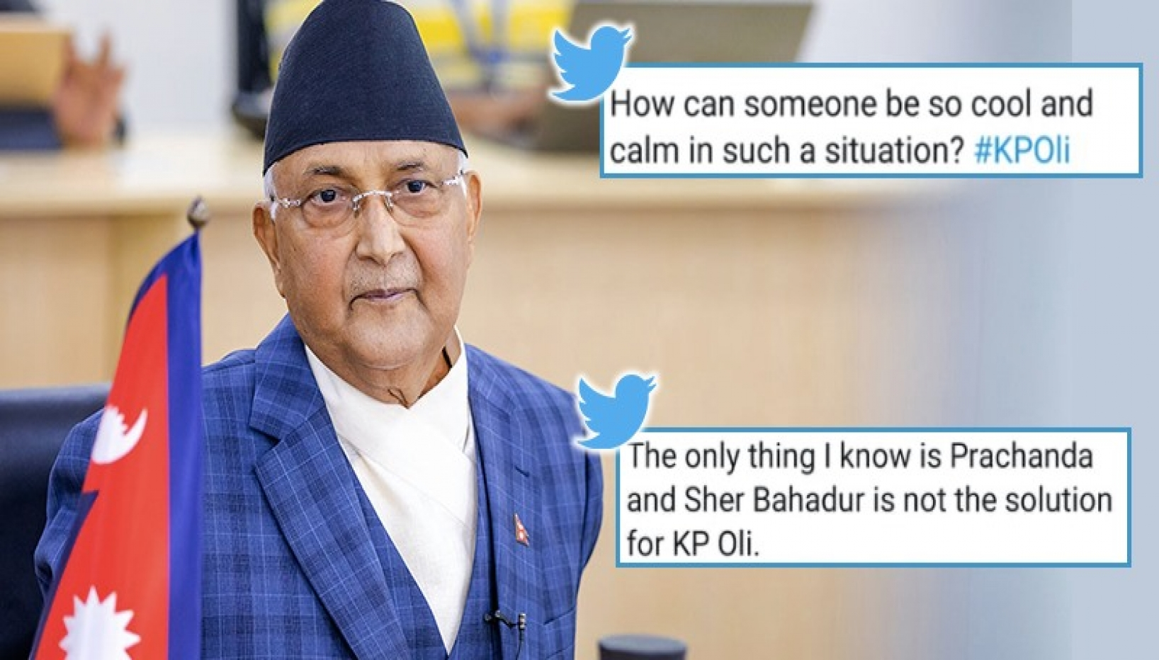 KP Oli Loses Vote Of Confidence; Internet Is Divided