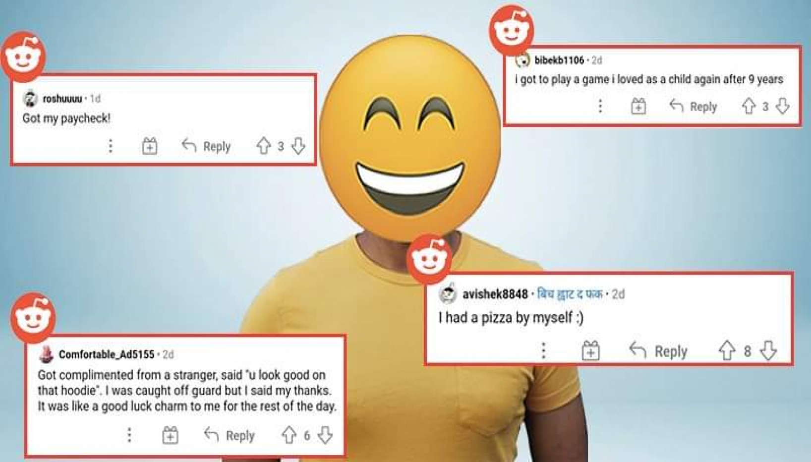 Little Things That Count; Nepali Redditors Share What Brightened Up Their Day