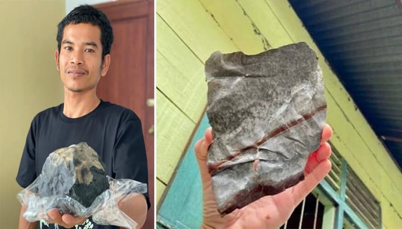 Indonesian Man Becomes A Millionaire After A Meteorite Lands In The Compound Of His House