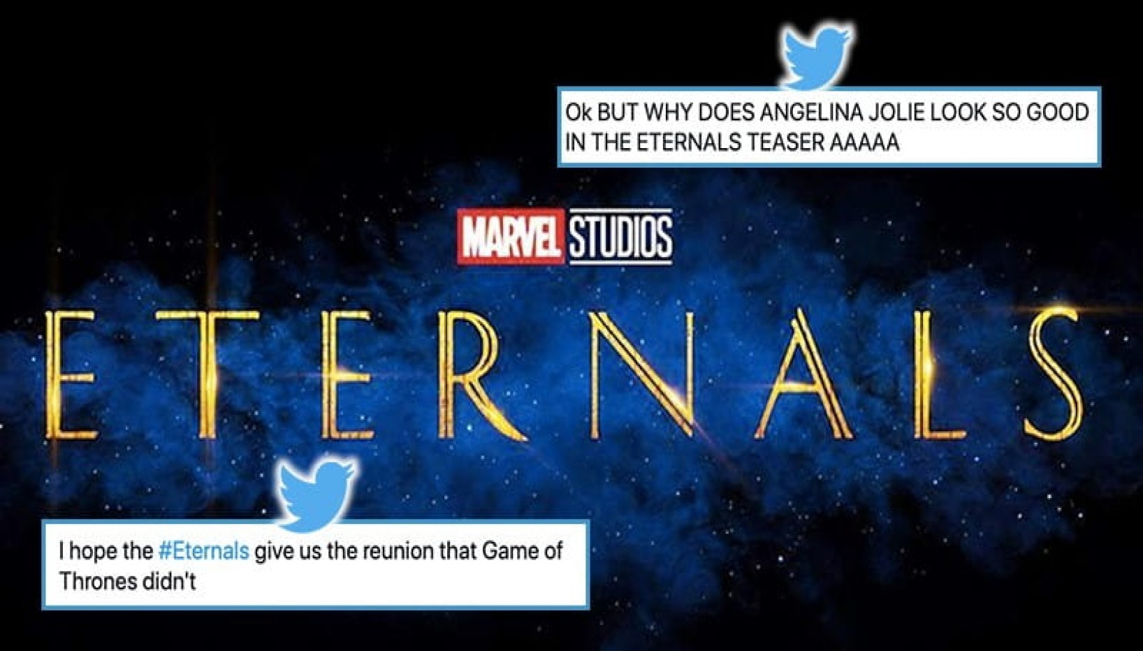 Tweets That Tell Us Why We Should Be Excited For Marvel's Eternals