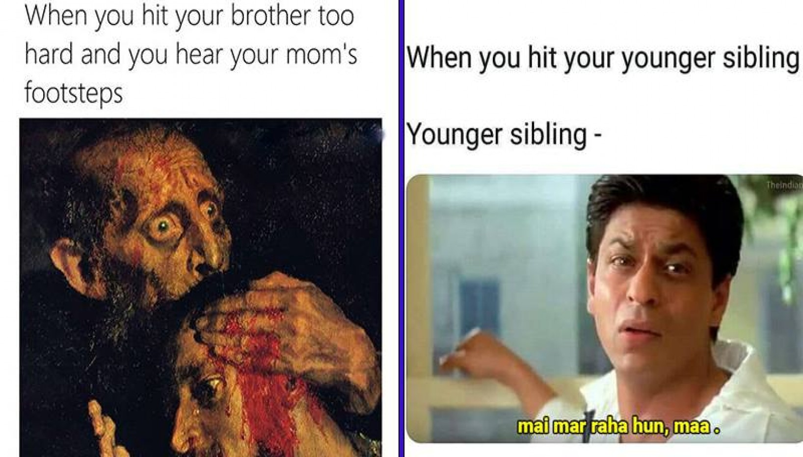 12 Relatable Memes To Make Your Nepali Sibling Smile After Making Them Cry