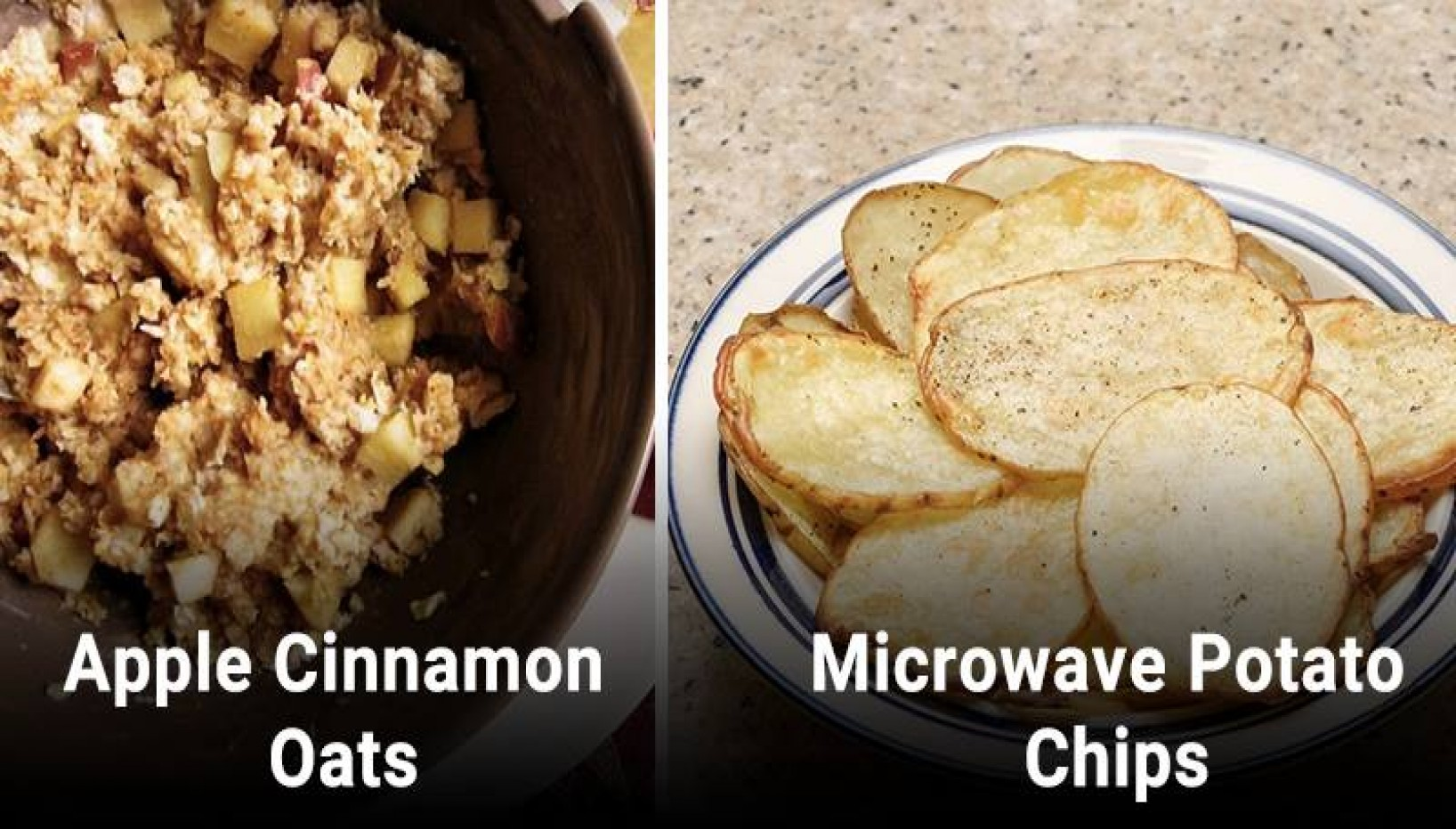 6 Quick Snacks You Can Make In The Microwave With Ingredients You Probably Already Have