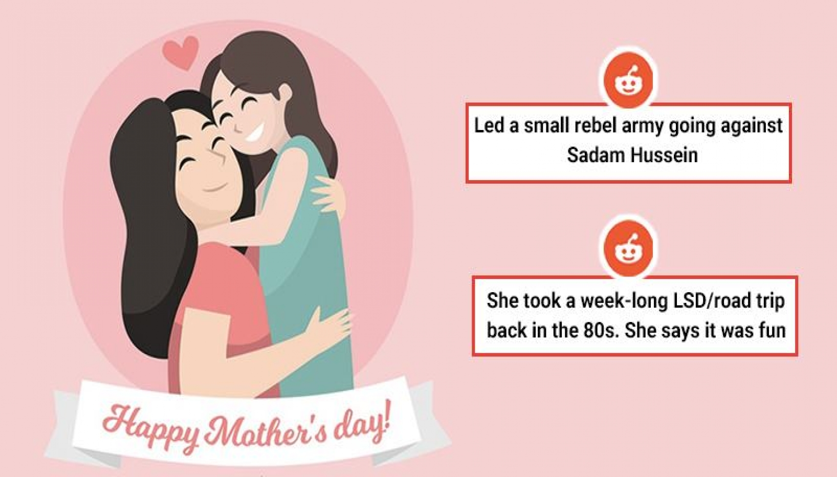 On Mother's Day 2021, Redditors Share Coolest Their Things Mothers Have Done