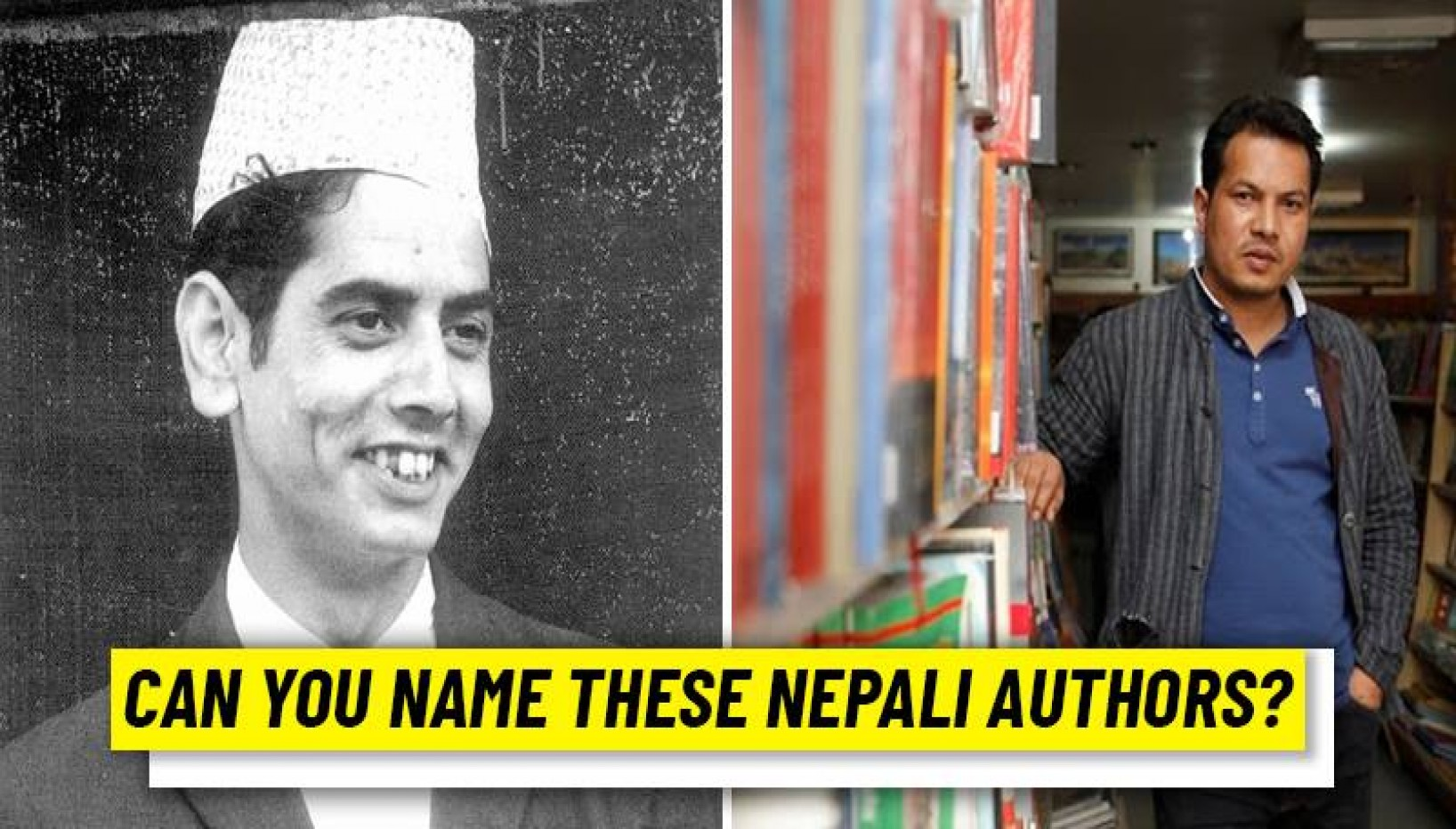 QUIZ: Can You Name These Iconic Nepali Authors Based Off Their Pictures And A Clue?