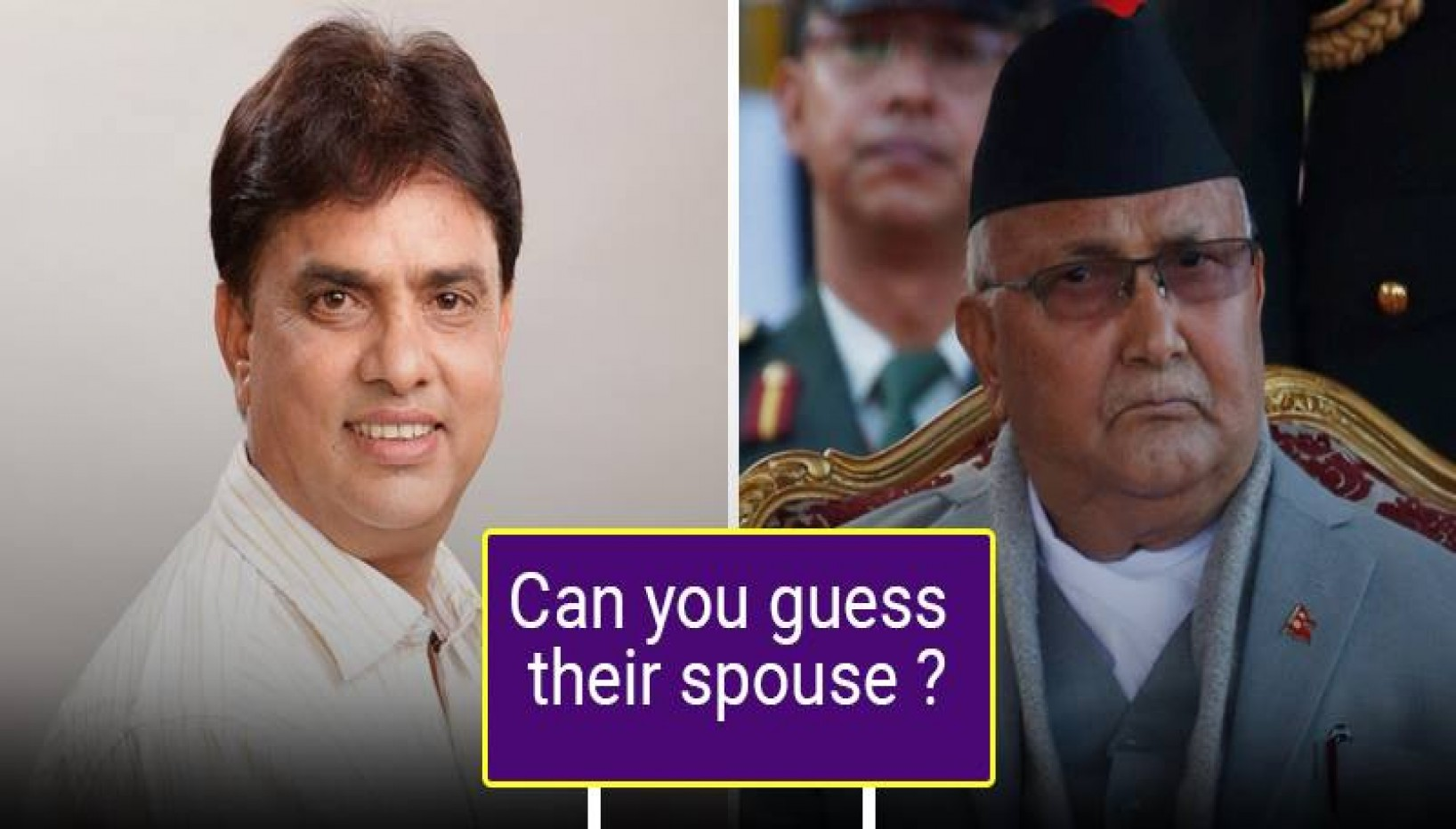 QUIZ: We're Genuinely Curious If You Can Name Spouses Of These Nepali Personalities