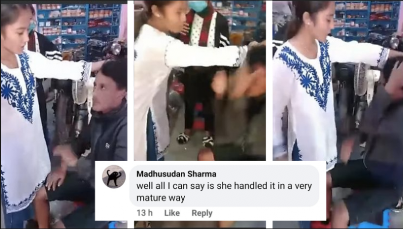 Nepali Guy Spreads False Rumors About Girls; Gets Beaten Up With Slaps And Slippers