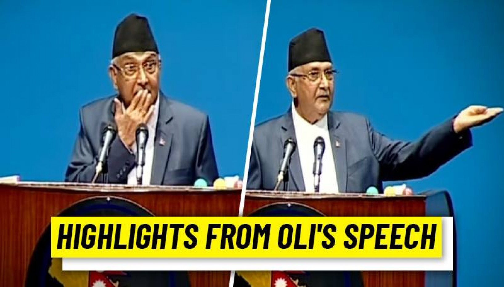 Attacks, Allegations And Challenges: Here Are 10 Highlights From Oli's Speech