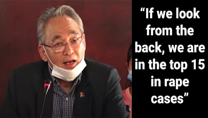 People Outraged At The Statements Made By The Nepalese Home Minister About Rape Cases In Nepal