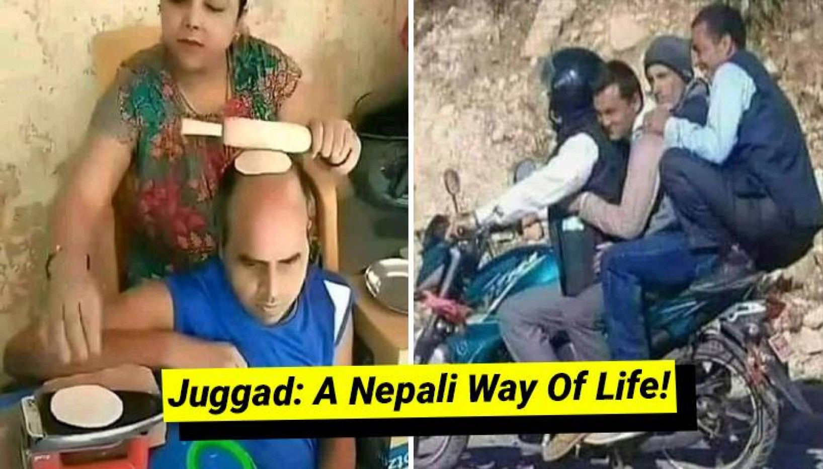 15 Pictures That Prove Nepalis Are Expert At Juggad