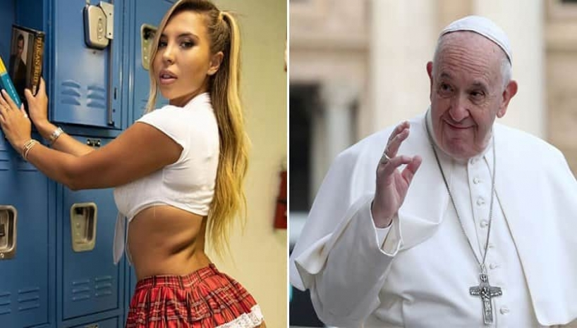 Pope Francis' Instagram Account Spotted Liking Bikini Model's Seductive Pictures
