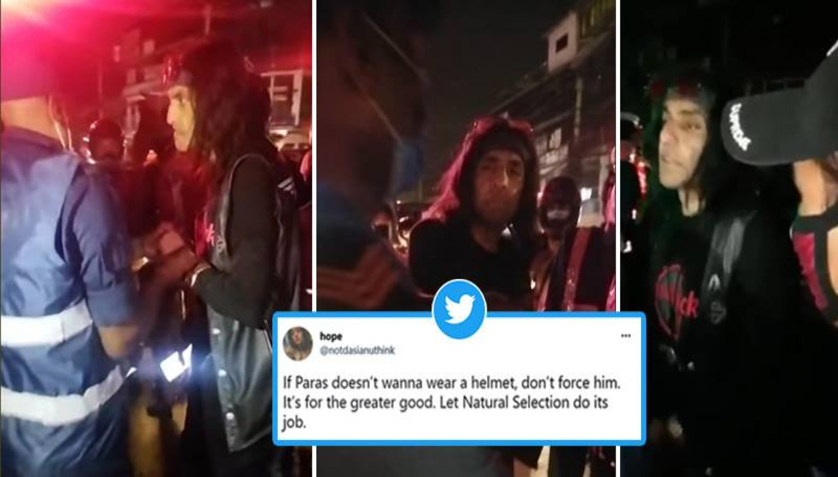 Former Prince Paras Shah Caught In A Tussle Against Police; Internet Reacts With Memes, Satires And Opinions
