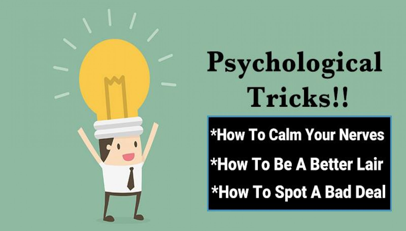 10 Psychology Tricks You Can Use To Get The Finer Things In Life
