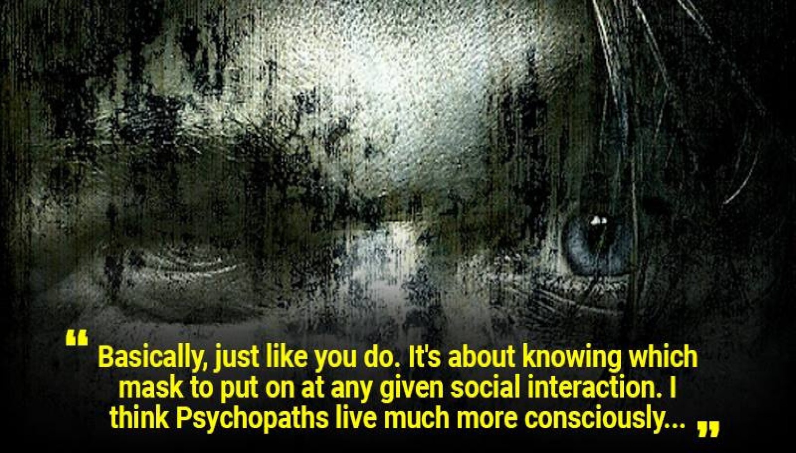 Actual Sociopaths And Psychopaths Answer What Day To Day Life Is Like For Them