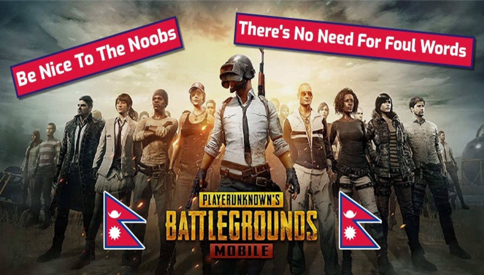 How To Not Be An Asshole On PUBG Mobile (As A Nepali)