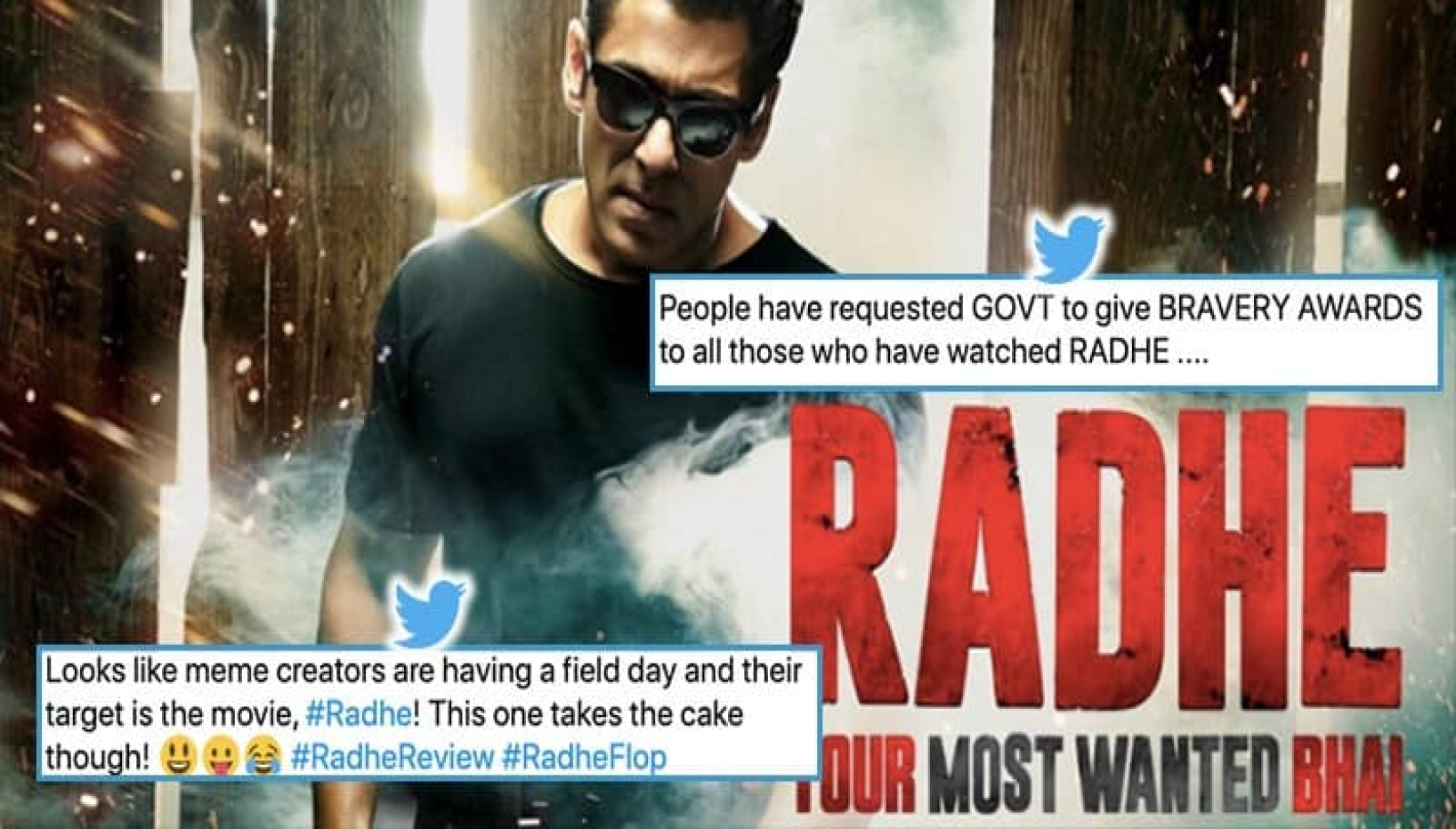 These Hilarious Memes And Tweets Explain Why Radhe Received a 1.9 Rating On IMDB