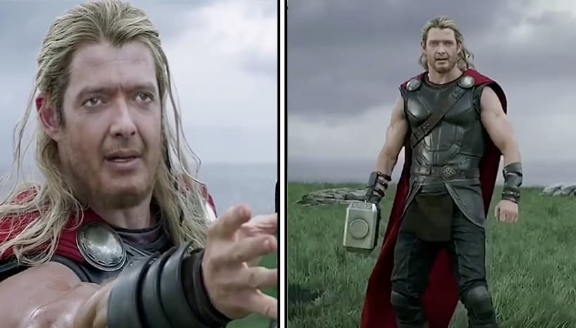 Rajesh Hamal As Thor Is The Super Hero We Didn't Know We Needed